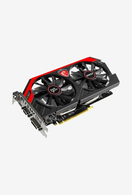 MSI N750Ti TF 2GD5/OCV1 Graphics Card Black