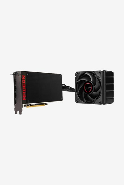 MSI R9 Fury X 4G Graphics Card Black
