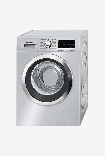 Bosch WAT24468IN 8KG Front Loading Washing Machine Silver