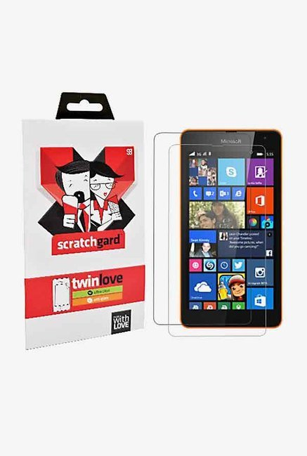 ScratchGard Twin Pack Screen Protector for Lumia 535