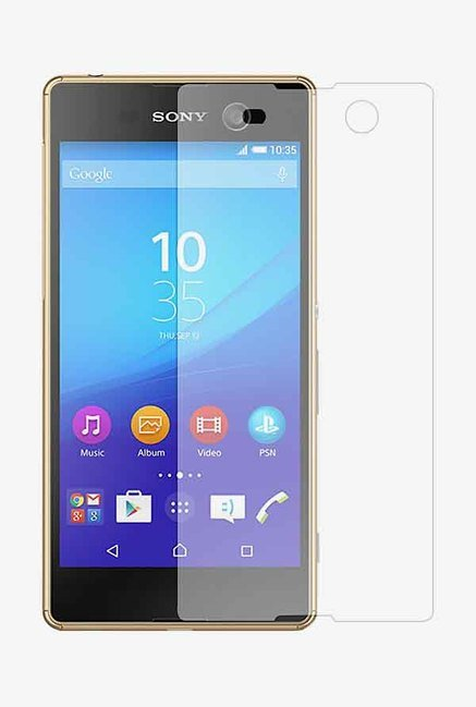 Stuffcool Puretuff Tempered Glass for Sony Xperia M5