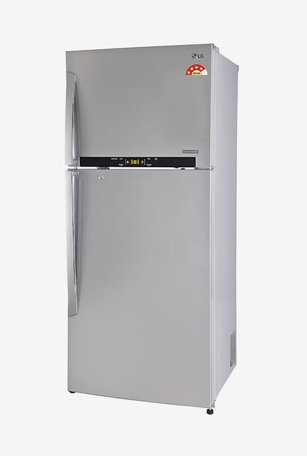 LG GL-T522GNSL 470L 4 Star Double Door Refrigerator (Noble Steel)
