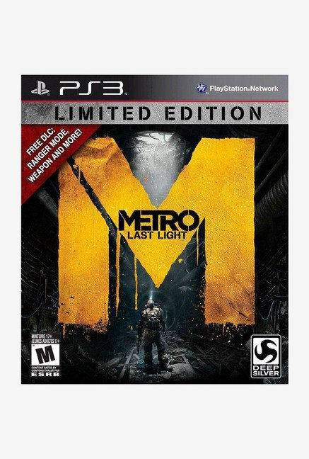 Deep Silver UK Metro Last Light Limited Edition PS3 Game
