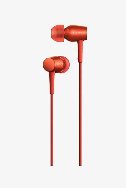Sony MDREX750APRME In Ear Headphones With Mic (Red)
