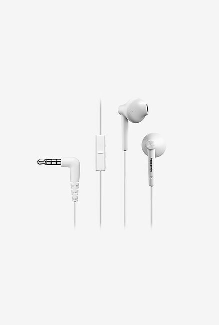 Panasonic RP-TCM50E-W In Ear Headphones With Mic White