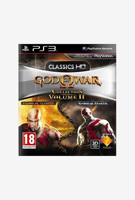 Sony God of War Collection Volume 2 PS3 Game
