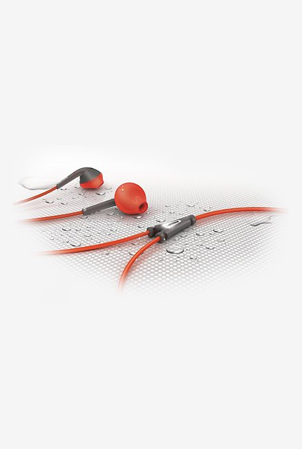 Philips SHQ1200 In Ear Headphones Red