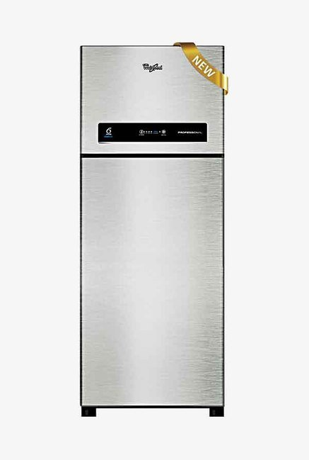 Whirlpool PRO355ELTIS 340L 3 Star  Double Door Refrigerator (Silver)