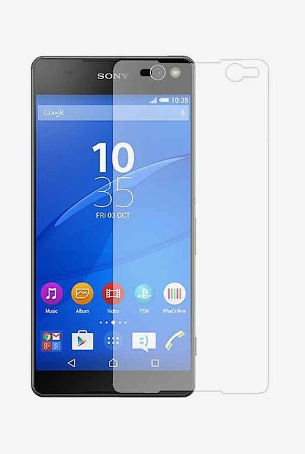 Stuffcool Puretuff Tempered Glass for Sony Xperia C5