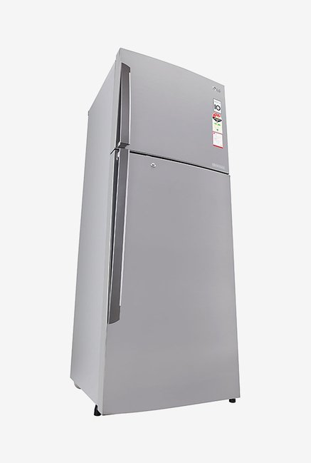 LG GL-U372JPZL 335L 4 Star Double Door Refrigerator (Shiny Steel)