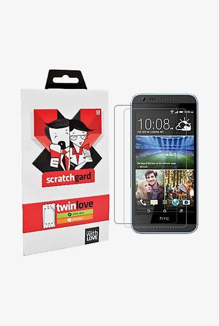 ScratchGard Twin Pack Screen Protector for Desire 620/620G