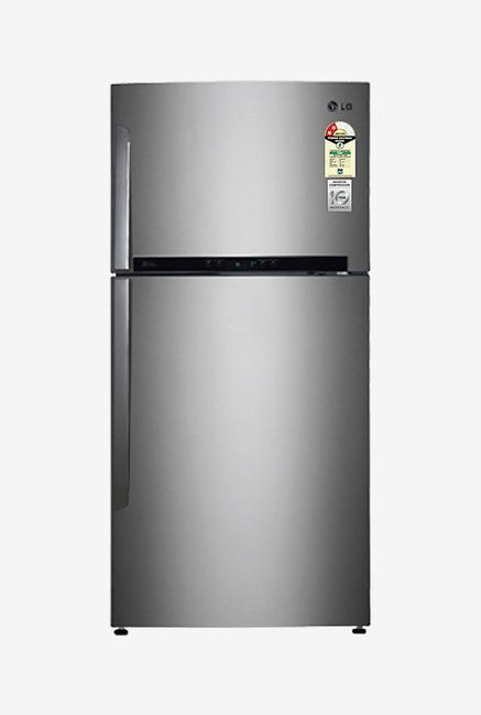 LG GR-M772HLHM 606L 2 Star Double Door Refrigerator (Shiny Steel)