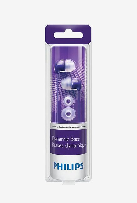 Philips SHE3590PP/10 In Ear Headphones Purple
