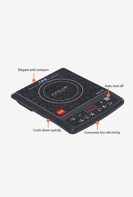 Cello Blazing 100 1800W Induction Cooker Black
