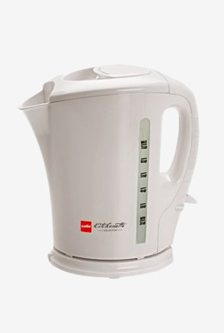 Cello Quick Boil 100 1.5 Litre Kettle White