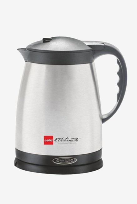 Cello Quick Boil 400 1.5 Litre Kettle Silver