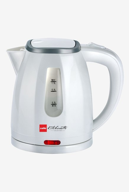 Cello Quick Boil 600 A 1 Litre Kettle White