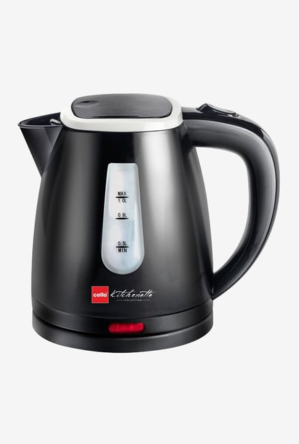 Cello Quick Boil 600 B 1 Litre Kettle Black