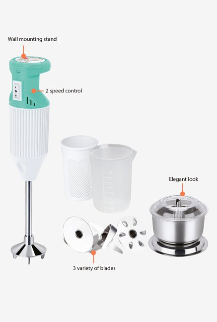 Cello 175W Blend-N-Mix 400 Hand Blender White