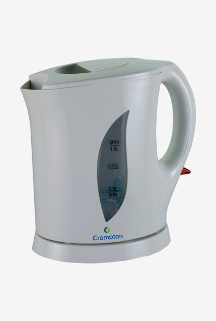 Crompton Cordless 1.0 Litre 1650 Watt Electric Water Kettle