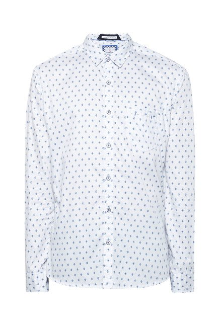 Killer White Diamond Printed Shirt