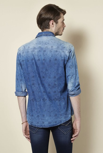 Killer Indigo Denim Shirt