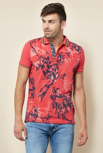 Lawman Coral Cotton T shirt
