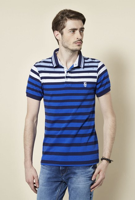 Killer Royal Blue Polo T Shirt