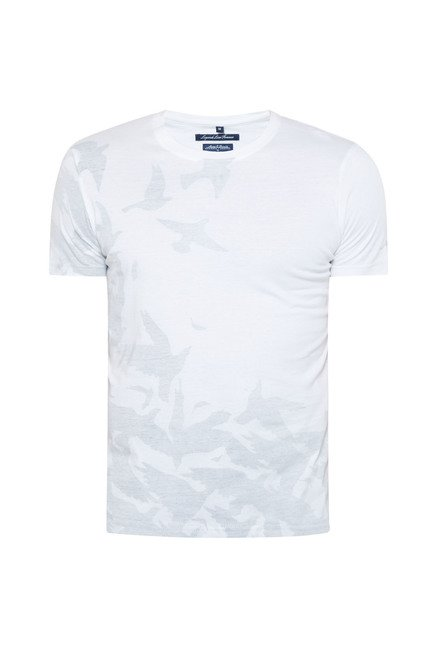 Killer White Printed T Shirt