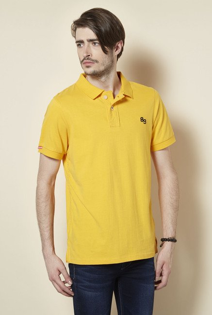Killer Yellow Polo T Shirt