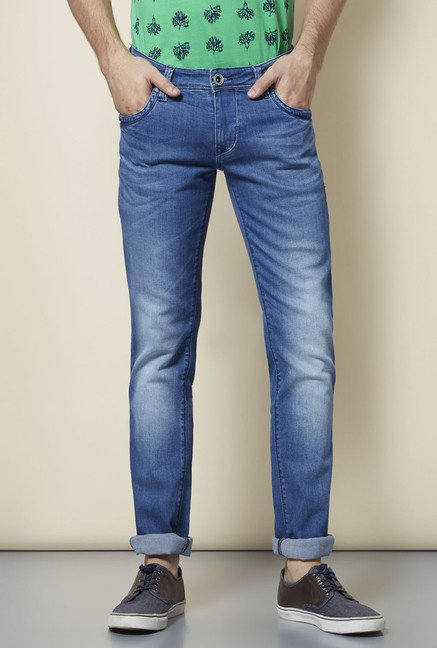 Lawman Marine Washed Skinny Fit Jeans