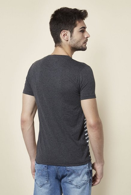 Lawman Anthra Striped T shirt