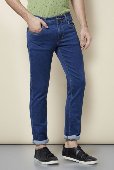 Lawman Blue Denim Slim Fit Jeans