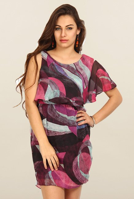 Avirate Multicolor Printed Dress