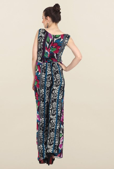 Avirate Multicolor Printed Jumpsuit