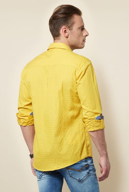 Killer Yellow Checks Shirt