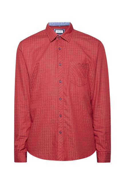 Killer Red Checks Shirt