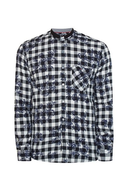 Killer Black Checks Casual Shirt