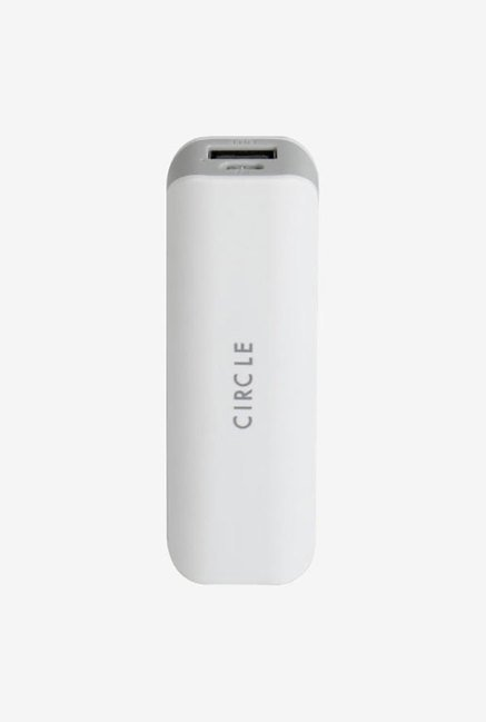 Circle LI 26 2600 mAh Power Bank (White)