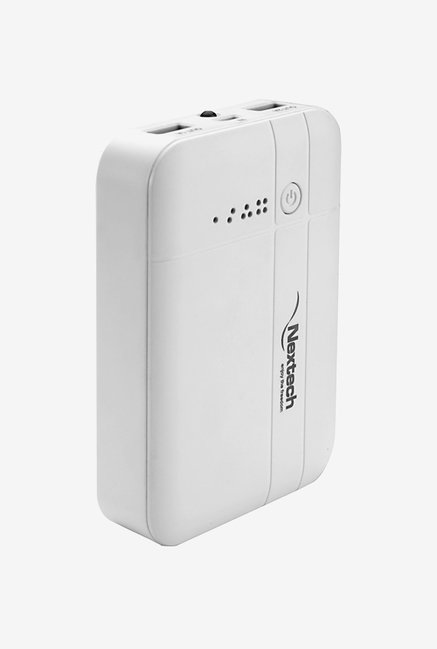 Nextech PB1050 10400mAh Power Bank (White)