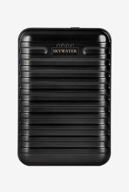 Skywater Suitcase 20000 mAh Power Bank (Black)