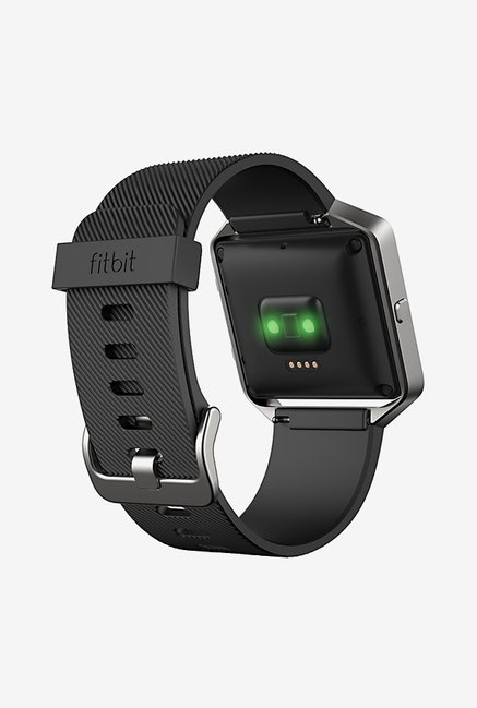 Fitbit Blaze Smart Fitness Watch, Small (Black/Silver)