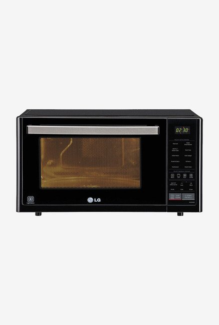 LG MJ3294BG 32 L Convection Microwave Oven Black