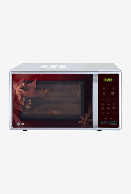 LG MC2145BPG 21 L Convection Microwave Oven Red & Silver