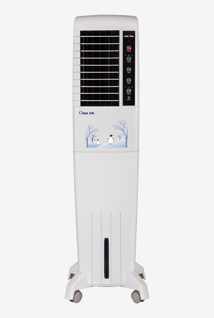 Kenstar Glam 50R 50 Litres Air Cooler (White)