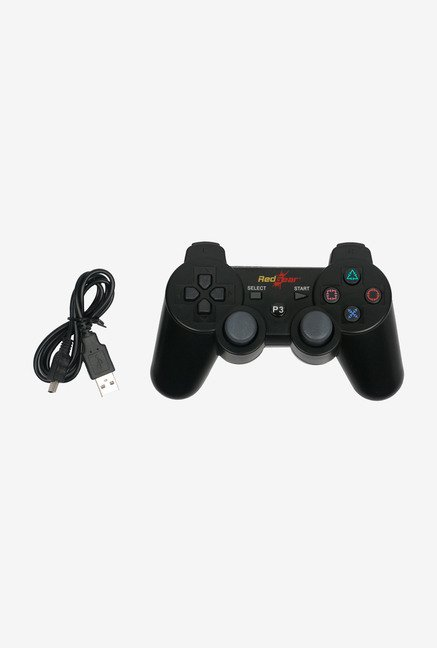 Red Gear PS3 RG Bluetooth Controller Black
