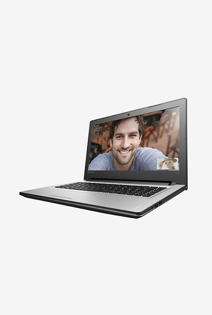 Lenovo Ideapad 300-15ISK Laptop with Windows 10 (Silver)