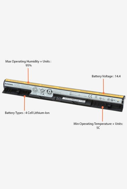 Lenovo Ideapad G400s and 500s 4 Cell Battery