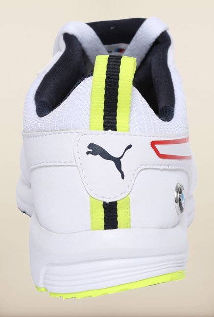 Puma BMW White & Yellow Sneakers
