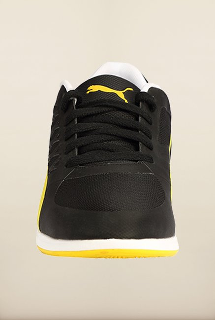 Puma Ferrari Black & Yellow Sneakers